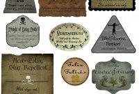 Harry Potter Potion Label Printables  Halloween  Harry Potter for Harry Potter Potion Labels Templates