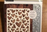 Hearts Cutting Templates From Recollections   Etsy pertaining to Recollections Card Template