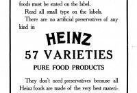 Heinz   Wikipedia in Heinz Label Template