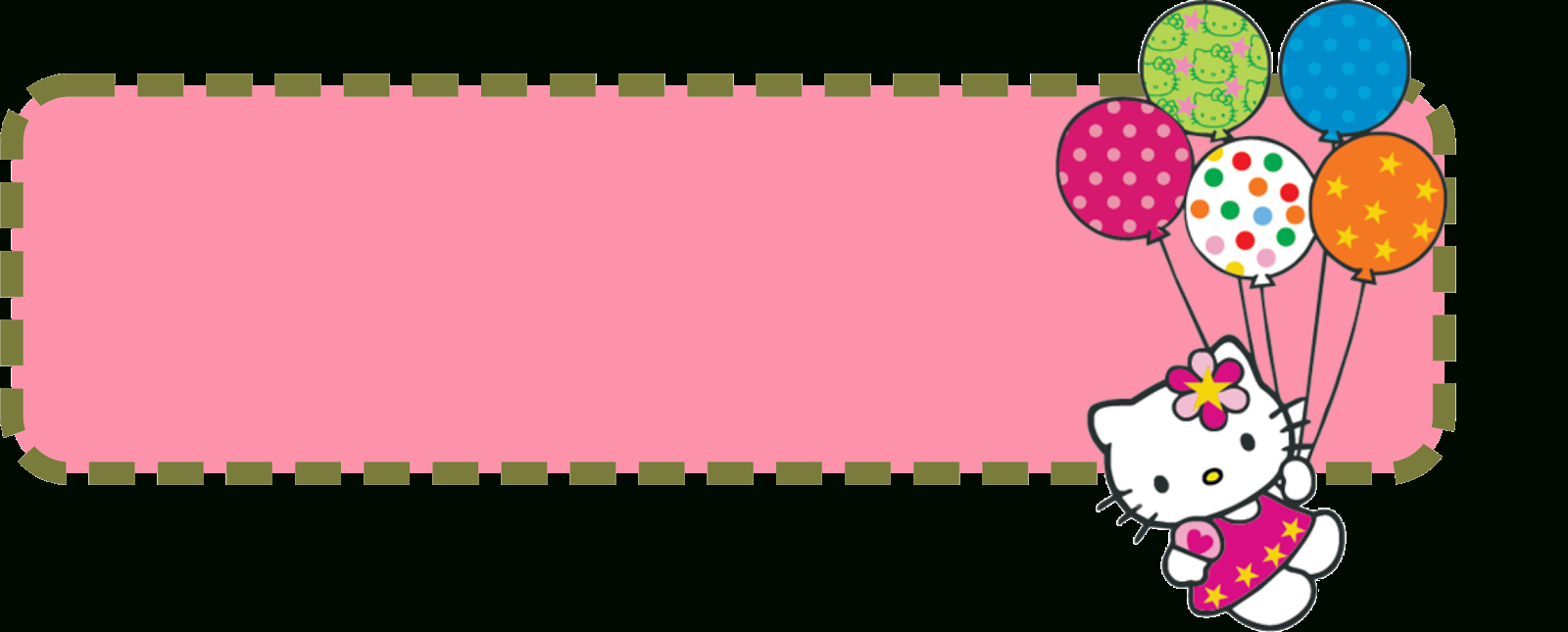 Hello Kitty Banner Template  Banner And Forum Templates With Hello Kitty Banner Template