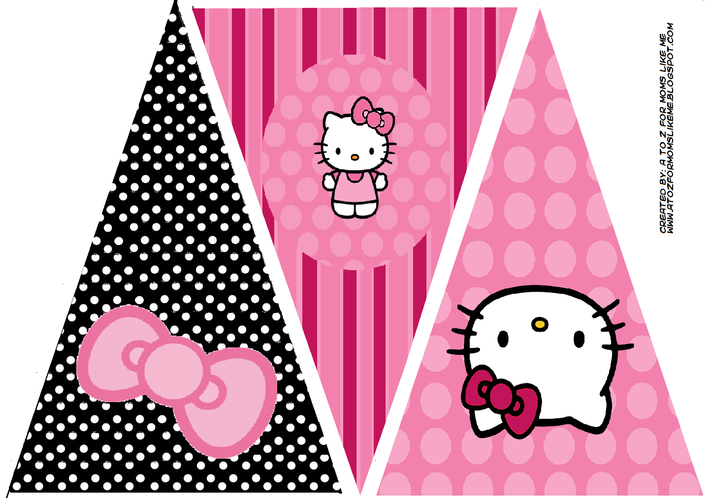 Hello Kitty Birthday Party Banner This Is One Of  Printable Inside Hello Kitty Birthday Banner Template Free