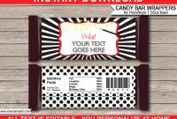 Hershey Bar Wrapper Template Beautiful Magic Hershey Candy Bar with Blank Candy Bar Wrapper Template For Word