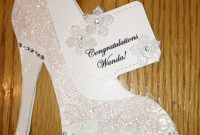 High Heel Shoe Card  Bridal Shower Tanya Bell's High Heel Shoe throughout High Heel Template For Cards