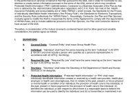 Hipaa Compliance Agreement Template  Lera Mera pertaining to Business Associate Agreement Hipaa Template