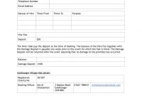 Hire Agreement Form  Goldhanger Village Hall in Venue Hire Agreement Template
