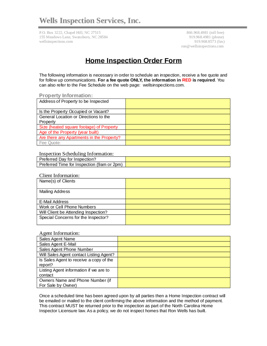 Home Inspection Report  Fillable Printable Pdf  Forms  Handypdf Regarding Pre Purchase Building Inspection Report Template