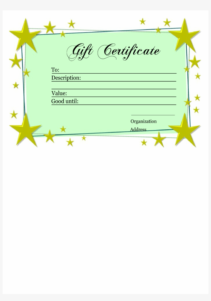 Homemade Gift Certificate Template Main Image  Panama Flag With Homemade Christmas Gift Certificates Templates