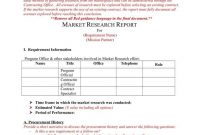 How A Market Research Benefits Your Business  Free  Premium Templates regarding Market Research Report Template