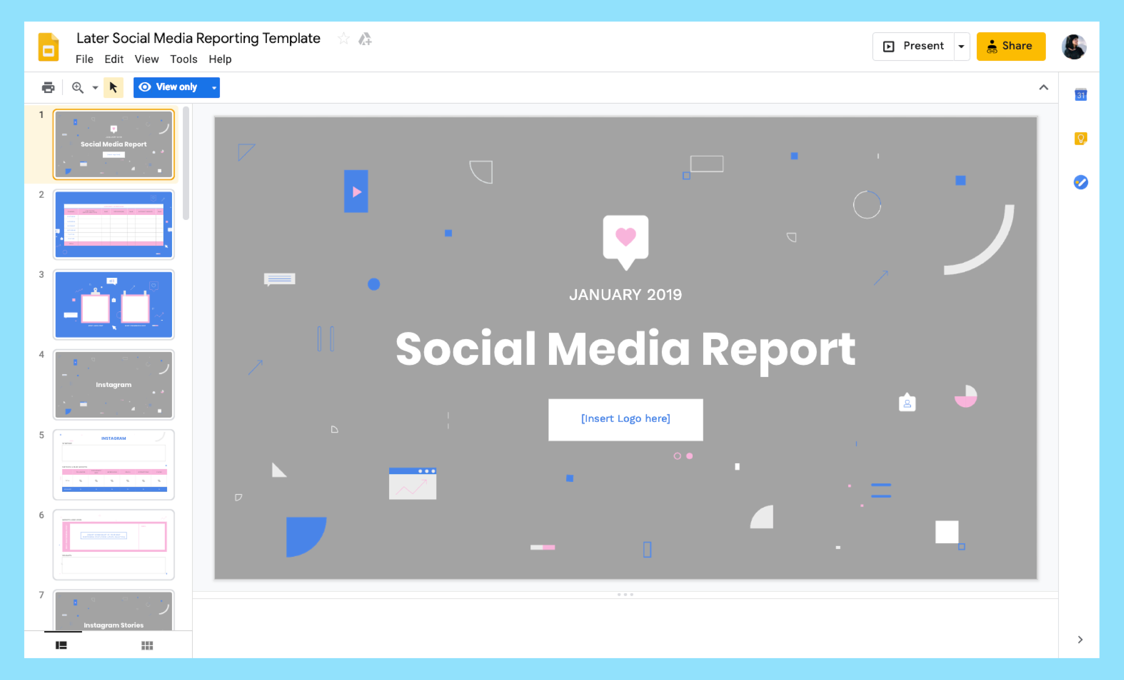 How To Build A Monthly Social Media Report With Regard To Weekly Social Media Report Template