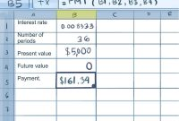 How To Calculate Credit Card Payments In Excel  Steps for Credit Card Interest Calculator Excel Template