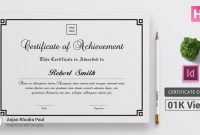 How To Create A Certificate Template In Indesign  ✪ Indesign in Indesign Certificate Template