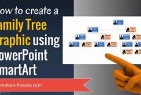 How To Create A Family Tree Graphic Using Powerpoint Smartart  Youtube for Powerpoint Genealogy Template