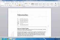 How To Create A Memo In Microsoft Word   Youtube in Memo Template Word 2013