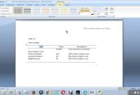 How To Create An Apa Formatted Table In Ms Word  Youtube regarding Apa Table Template Word