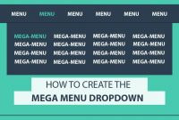 How To Create The Mega Drop Down Menu Using Html And Css  Css Mega regarding Drop Down Menu Template Html