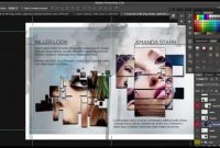 How To Design A Progessional  Page Brochure In Photoshop  Youtube Within 12 Page Brochure Template