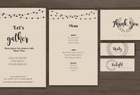 How To Design Your Own Dinner Party Printables – Befunky Blog in Design Your Own Menu Template