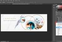 How To Designcreate Easy To Edit Photoshop Facebook Cover Templates in Photoshop Facebook Banner Template