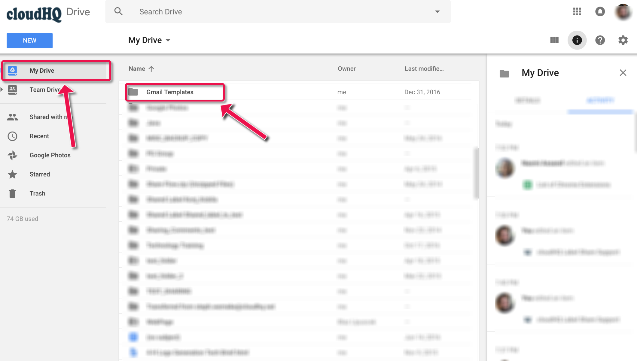 How To Edit And Modify Gmail Templates In Google Drive – Cloudhq Support Intended For Google Label Templates
