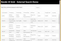 How To External Search Box For Kendo Ui Grid  Telerik Helper regarding Kendo Menu Template
