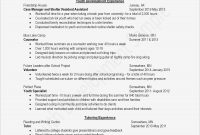 How To Format Resume In Word Elegant Blank Resume Templates For with regard to Blank Resume Templates For Microsoft Word