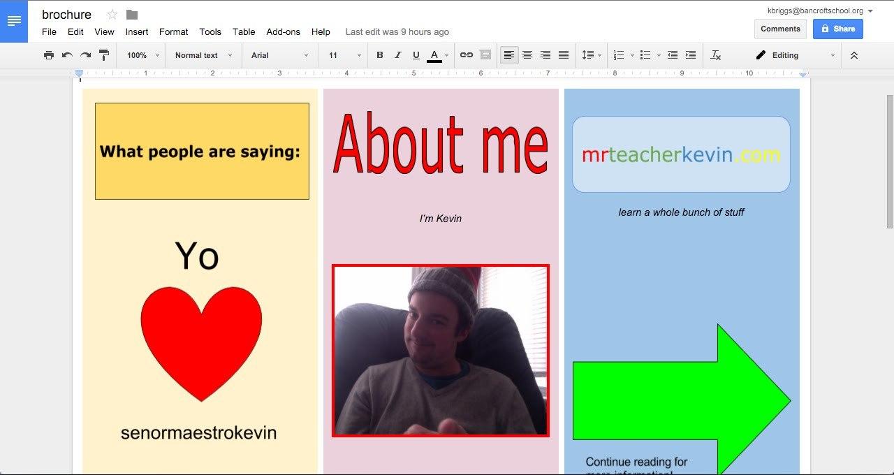 How To Make A Brochure In Google Docs  Youtube Regarding Brochure Template For Google Docs
