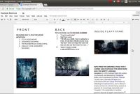 How To Make A Brochure On Google Docs  Youtube inside Science Brochure Template Google Docs