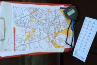 How To Plan A Streeto Event  Claro Orienteering with regard to Orienteering Control Card Template