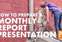 How To Prepare A Monthly Report Presentation  Youtube for Monthly Report Template Ppt