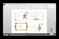 How To Print Labels From A Free Template In Microsoft Word within Free Templates For Labels In Word