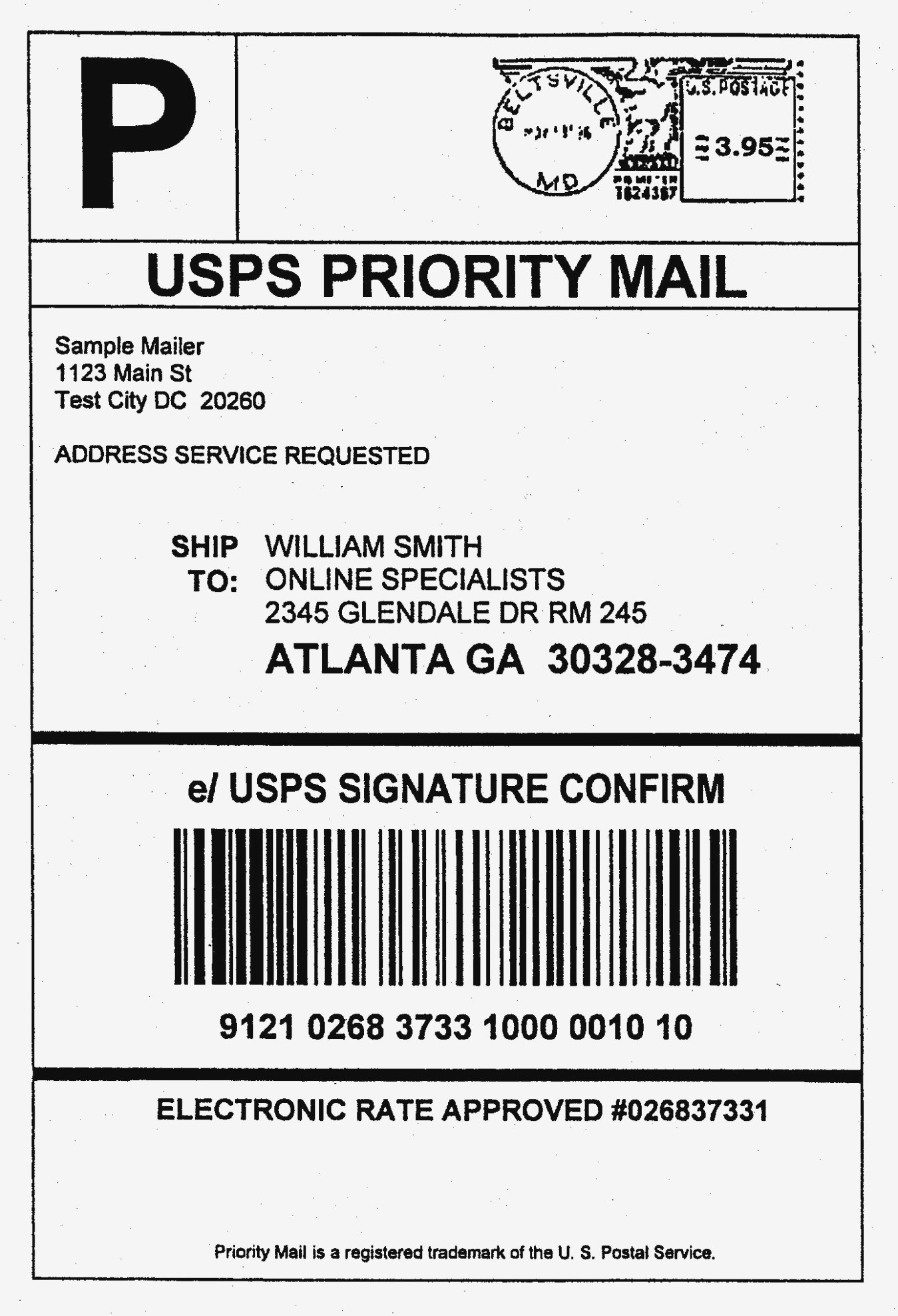 How To Print Out Usps Shipping Labels Awesome Usps Label Beautiful With Package Address Label Template