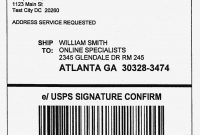 How To Print Out Usps Shipping Labels Awesome Usps Label Beautiful within Package Shipping Label Template
