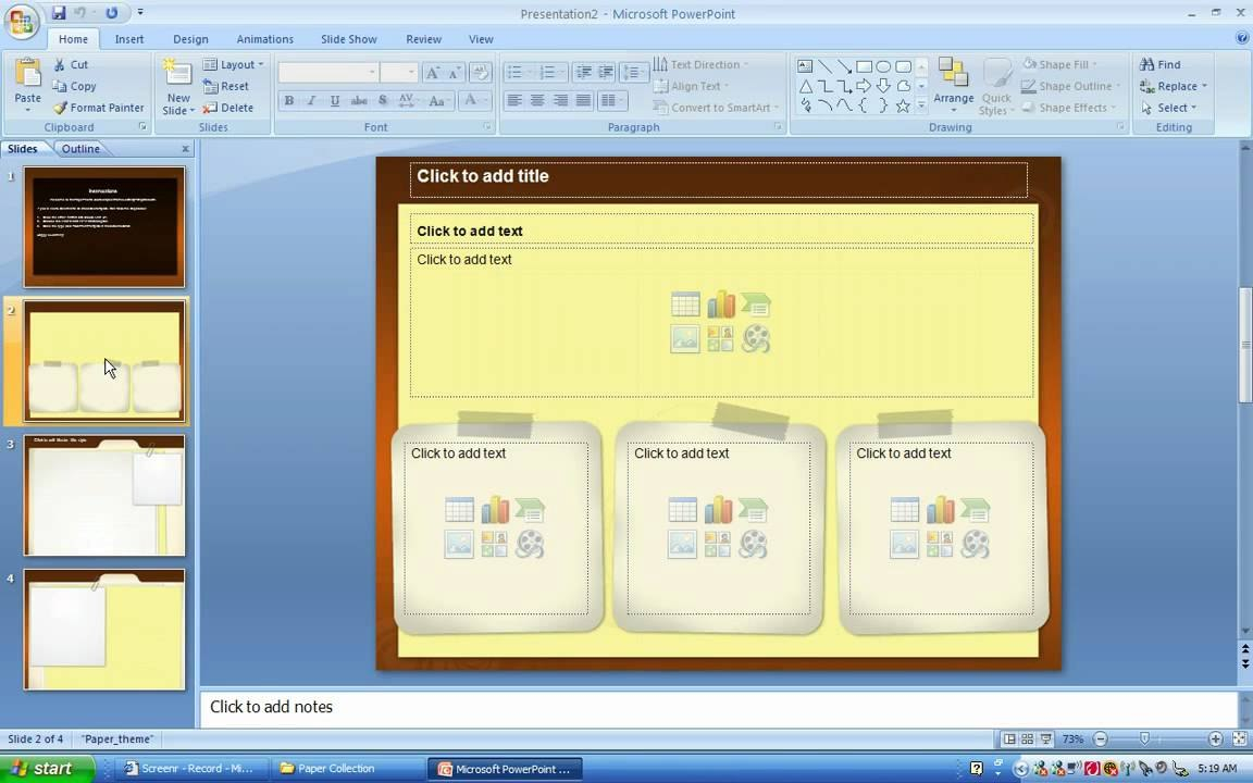 How To Save A Ppt File As A Powerpoint Template  Youtube Regarding How To Save Powerpoint Template