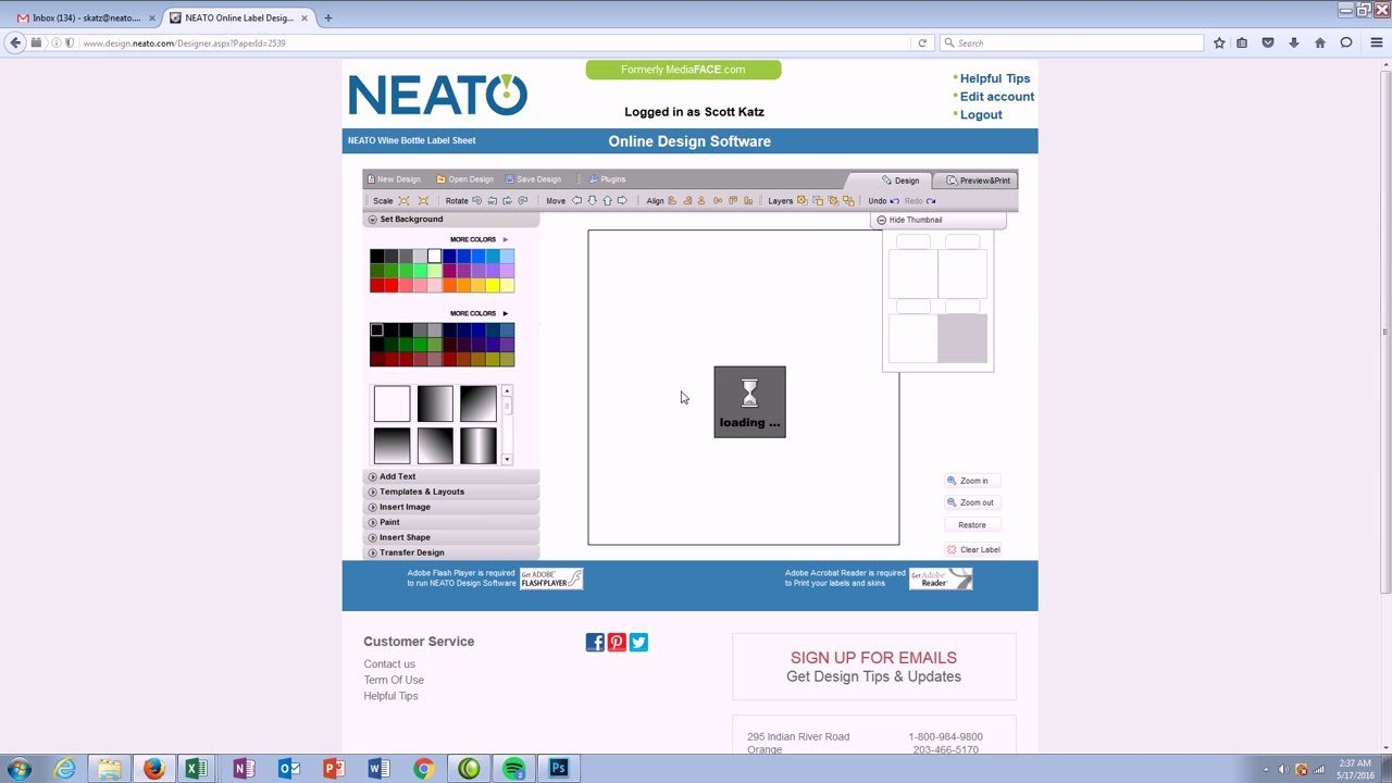 How To Video Tutorials With Regard To Neato By Fellowes Cd Label Template