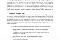 How To Write Up Focus Group In Dissertation Pdf Discussion in Focus Group Discussion Report Template
