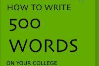 How To Writes Free Printable Essay Outline Wondrous  Words regarding 500 Word Essay Template