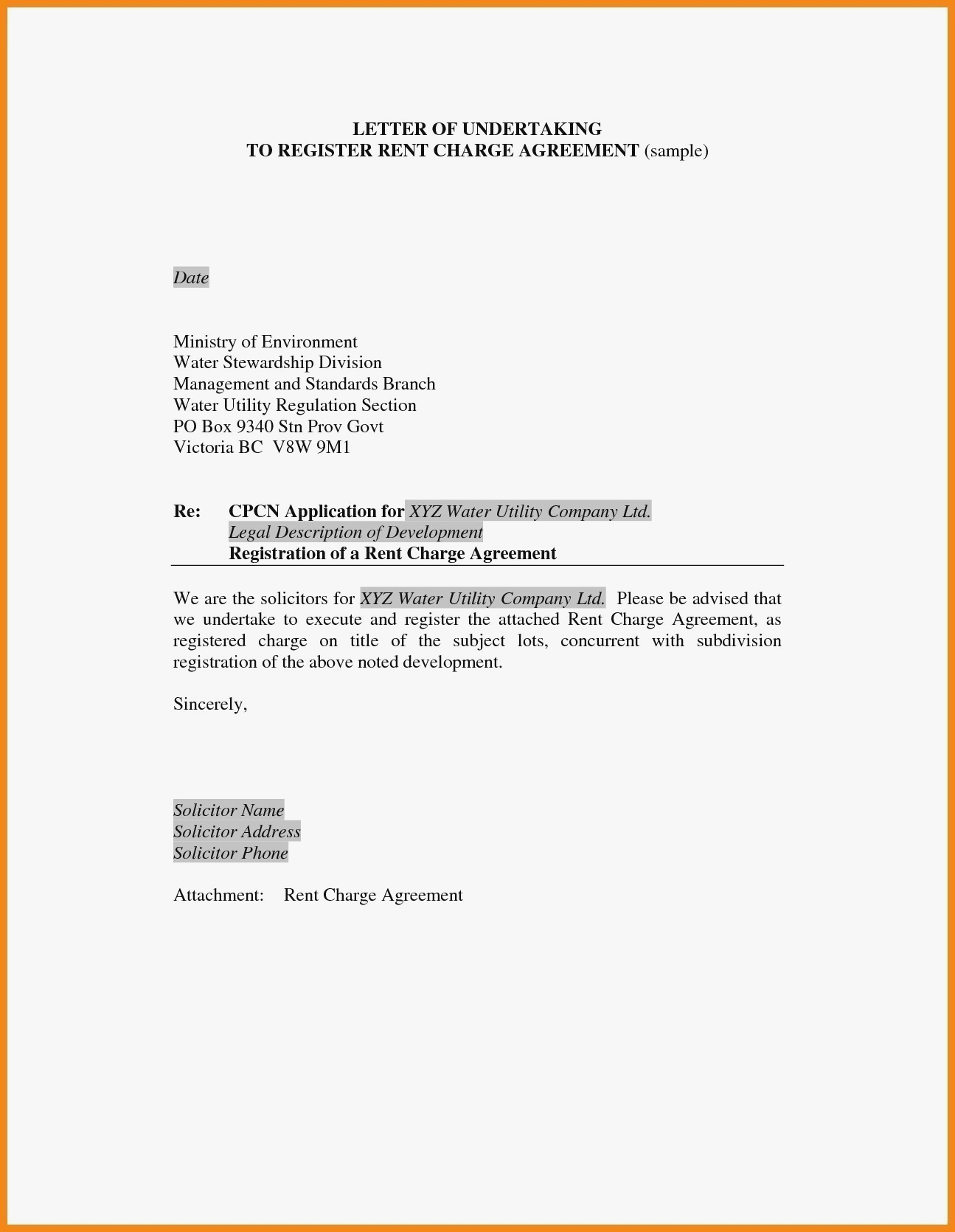 How Write An Undertaking Letter For Payment Best Save Of Elemental Within Legal Undertaking Template