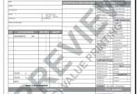 Hv Hvac Flat Rate Work Order Invoice   Value Printing  Hvac pertaining to Hvac Invoices Templates