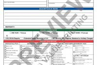 Hvac Invoice With Inspection Report And Hvac Service Agreement Call with Hvac Service Invoice Template Free