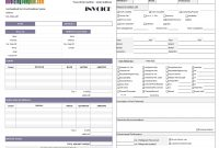 Hvac Service Invoice pertaining to Hvac Service Invoice Template Free