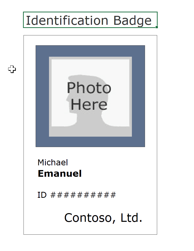 Id Badge  Id Card Templates Free  Template Archive Within Faculty Id Card Template