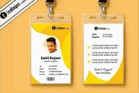 Id Template Free Beautiful Vertical Employee Id Card  Best Of Template regarding Shield Id Card Template