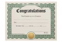 Ideas Collection For Certificate Of Promotion Template With with Promotion Certificate Template