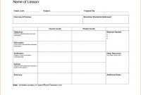 Ideas Collection New Madeline Hunter Lesson Plan Template Word regarding Madeline Hunter Lesson Plan Template Word