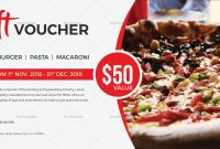 Ideas For Pizza Gift Certificate Template With Additional Reference intended for Pizza Gift Certificate Template