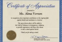 Ideas For Recognition Of Service Certificate Template Of Your within Recognition Of Service Certificate Template