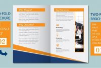 Illustrator Tutorial  Two Fold Business Brochure Template Part within 2 Fold Brochure Template Free
