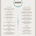 French Cafe Menu Template