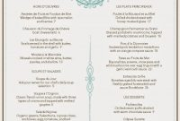 Image Result For French Menu  Multicultural Night France  French in French Cafe Menu Template