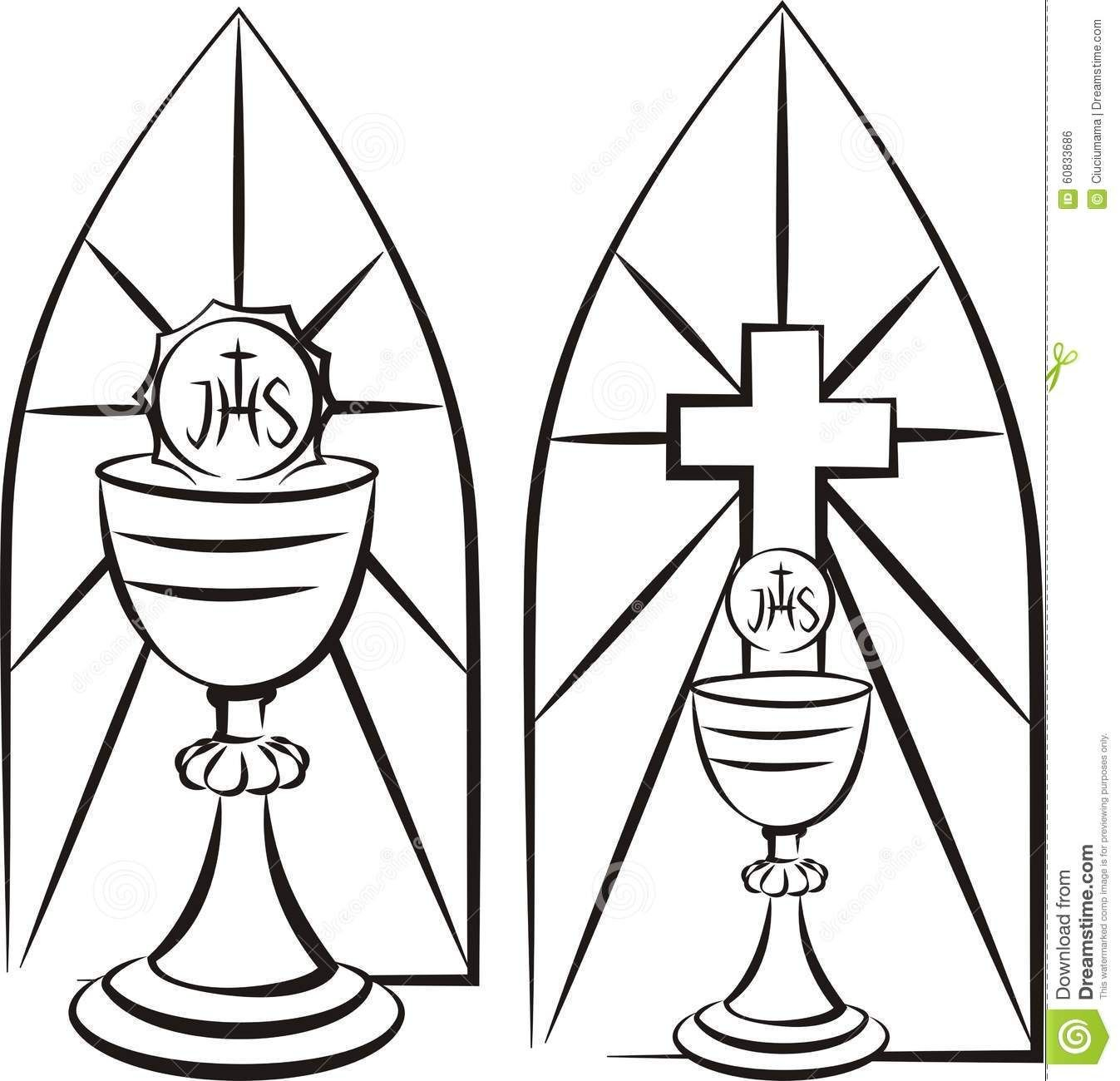 Image Result For Stain Glass First Communion Banner Template Intended For First Communion Banner Templates